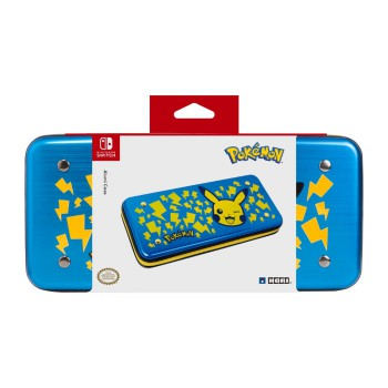 Aluminium Case for Nintendo Switch (Pikachu-Blue)