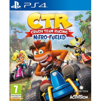Crash Team Racing Nitro - Fueled Előrendelés (PS4)