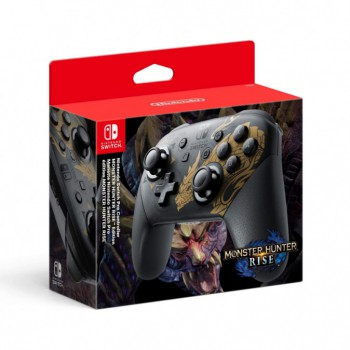 Nintendo Switch Pro Controller Monster Hunter Rise
