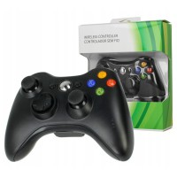 Wireless Xbox 360 Controller Black