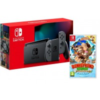 Nintendo Switch Grey + Donkey Kong Country Tropical Freeze Switch