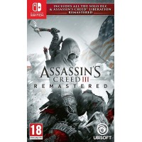 Assassin's Creed III Remastered + Assassin's Creed Liberation Remastered Switch, használt
