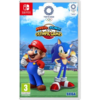 Mario & Sonic at the Olympic Games Tokyo 2020 Switch + AJÁNDÉKOK