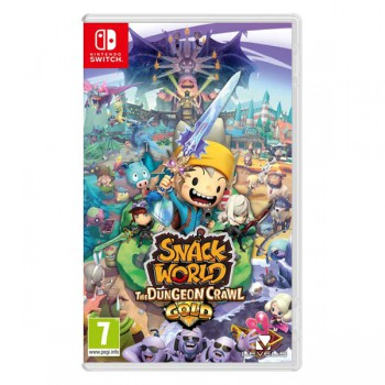 Snack World: The Dungeon Crawl - Gold Switch Előrendelés