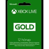 Xbox Live Gold 12 hónapos előfizetés