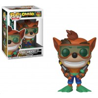 Funko POP! Crash Bandicoot with Scuba Gear
