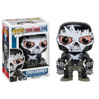 Funko POP! Captain America Civil War - Crossbones (Battle Damage)