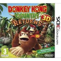 3DS Donkey Kong Country Returns 3D Select Előrendelés
