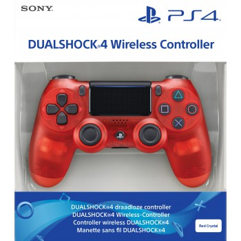 DualShock 4 Wireless Controller Red Crystal (Sony) (PS4)