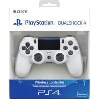 DualShock 4 Wireless Controller Glacier White (Sony) (PS4)