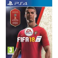 Fifa 18 + World Cup Russia 2018 DLC (PS4)