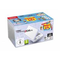 New Nintendo 2DS XL White & Levander + Tomodachi Előrendelés