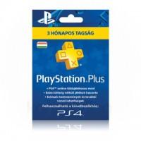 PlayStation Plus 3 hónapos tagság (PS4, PS3, PSVita)