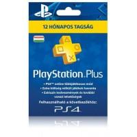 PlayStation Plus 12 hónapos tagság (PS4,PS3, PSVita)