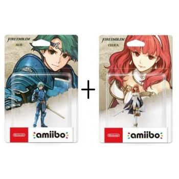 Amiibo Dupla Pakk - Fire Emblem Celica & Alm amiibo