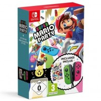 Super Mario Party Switch + Joy-Con Pair Green/Pink
