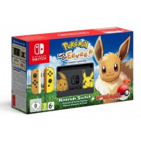Nintendo Switch Pikachu & Eevee Edition + Pokémon: Let's GO Eevee + Poké Ball Plus