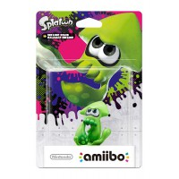 Splatoon Squid Green amiibo