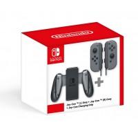 Nintendo Switch Joy-Con Grey + Charging Grip