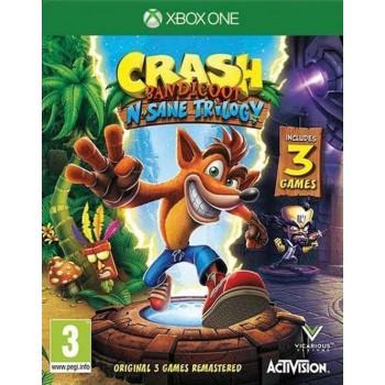 Crash Bandicoot N Sane Trilogy Előrendelés (XOne)