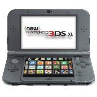 New Nintendo 3DS XL Metallic Black, használt