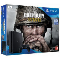 Playstation 4 Slim 1TB + Call of Duty WWII (PS4)