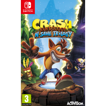 Crash Bandicoot N Sane Trilogy Switch Előrendelés
