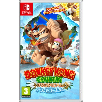 Donkey Kong Country Tropical Freeze Switch Előrendelés
