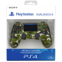 Dualshock 4 Wireless V2 Green Camouflage (PS4)