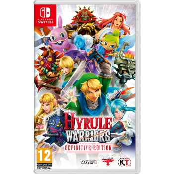 Hyrule Warriors Definitive Edition Switch