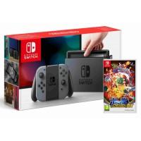 Nintendo Switch Grey + Pokkén Tournament DX