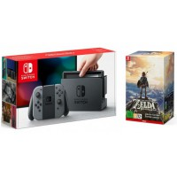 Nintendo Switch Grey + The Legend of Zelda Breath of the Wild Limited Edition