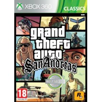 Grand Theft Auto GTA San Andreas (X360)