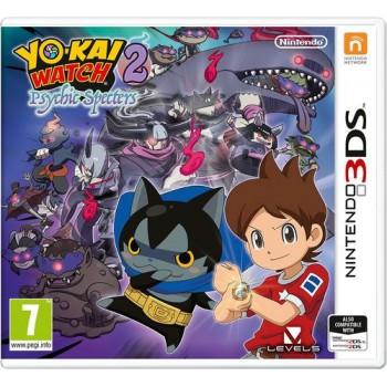 Yo-Kai Watch 2: Psychic Specters + Yo-Kai Watch kitűző (3DS)