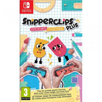 Nintendo Switch Snipperclips Plus: Cut it out, together!