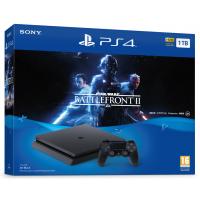 Playstation 4 Slim 1TB + Star Wars Battlefront II (PS4)