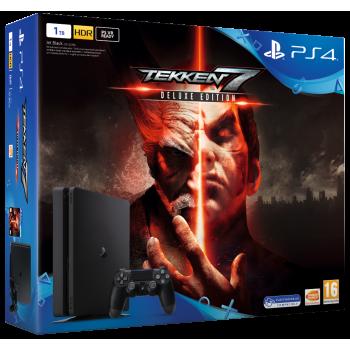Playstation 4 Slim 1 TB (PS4 Slim) + Tekken 7 Deluxe Edition