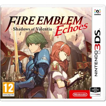 Fire Emblem Echoes Shadows of Valentia (3DS)