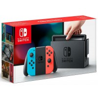Nintendo Switch Neon Red/ Neon Blue
