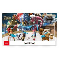 The Champions Amiibo Set (Urbosa, Revali, Mipha, Daruk) The Legend of Zelda Breath of the Wild Collection